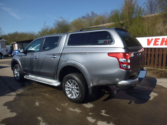 Mitsubishi L200 2.4 Double Cab DI-D 178 Warrior 4WD Auto Four Wheel Drive Diesel Grey