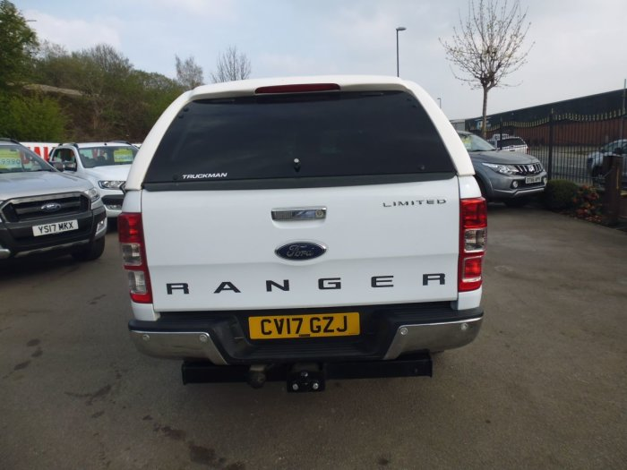 Ford Ranger 2.2 RANGER LIMITED 4X4 TDCI A Pick Up Diesel White