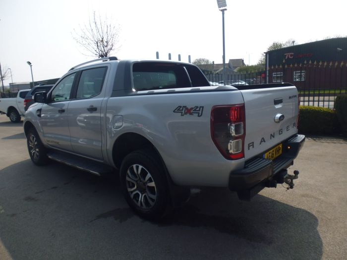 Ford Ranger Pick Up Double Cab Wildtrak 3.2 TDCi 200 Pick Up Diesel Silver