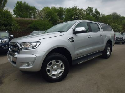 Ford Ranger Pick Up Double Cab Limited 1 3.2 TDCi 200 Pick Up Diesel SilverFord Ranger Pick Up Double Cab Limited 1 3.2 TDCi 200 Pick Up Diesel Silver at Mark Duesbury Cars Chesterfield