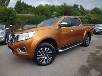 Nissan Navara Double Cab Pick Up N-Connecta 2.3dCi 190 4WD Pick Up Diesel YellowNissan Navara Double Cab Pick Up N-Connecta 2.3dCi 190 4WD Pick Up Diesel Yellow at Mark Duesbury Cars Chesterfield