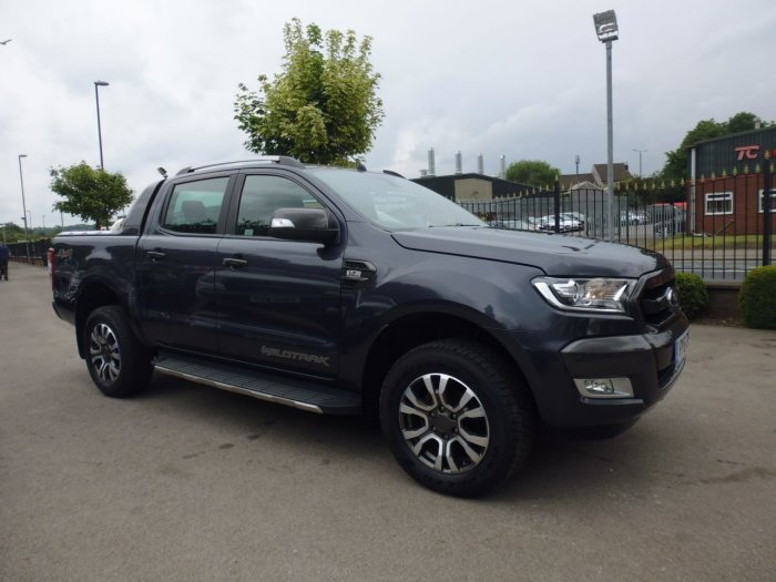 Ford Ranger Pick Up Double Cab Wildtrak 3.2 TDCi 200 Pick Up Diesel Grey