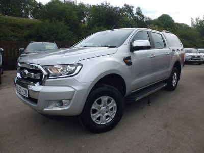 Ford Ranger Pick Up Double Cab XLT 2.2 TDCi Pick Up Diesel SilverFord Ranger Pick Up Double Cab XLT 2.2 TDCi Pick Up Diesel Silver at Mark Duesbury Cars Chesterfield