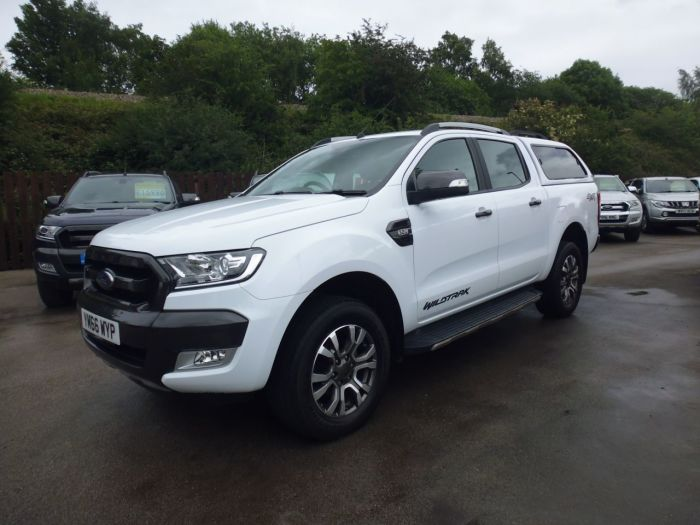 Ford Ranger 3.2 RANGER WILDTRAK 4X4 TDCI Four Wheel Drive Diesel White
