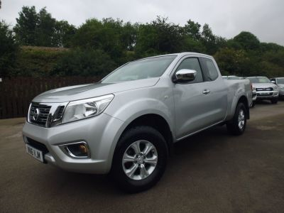 Nissan Navara King Cab Pick Up Acenta 2.3dCi 160 4WD Pick Up Diesel SilverNissan Navara King Cab Pick Up Acenta 2.3dCi 160 4WD Pick Up Diesel Silver at Mark Duesbury Cars Chesterfield