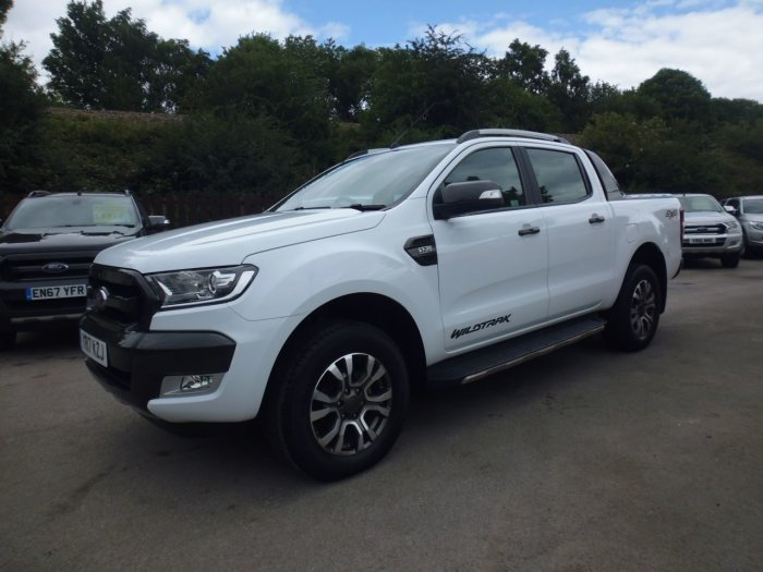 Ford Ranger 3.2 RANGER WILDTRAK 4X4 TDCI Pick Up Diesel White