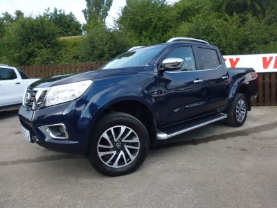 Nissan Navara Double Cab Pick Up Tekna 2.3dCi 190 4WD Pick Up Diesel BlueNissan Navara Double Cab Pick Up Tekna 2.3dCi 190 4WD Pick Up Diesel Blue at Mark Duesbury Cars Chesterfield