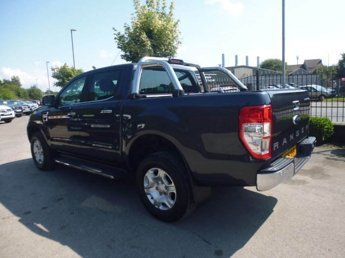 Ford Ranger Pick Up Double Cab Limited 2 2.2 TDCi Pick Up Diesel Grey