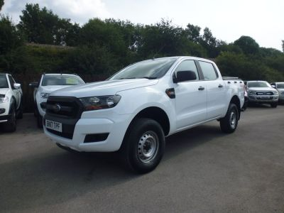 Ford Ranger 2.2 RANGER XL 4X4 TDCI Pick Up Diesel WhiteFord Ranger 2.2 RANGER XL 4X4 TDCI Pick Up Diesel White at Mark Duesbury Cars Chesterfield