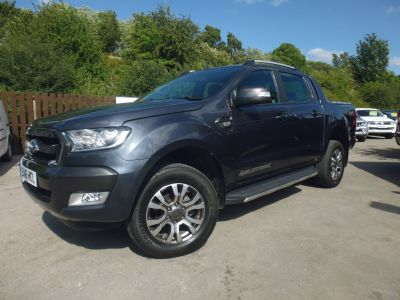 Ford Ranger Pick Up Double Cab Wildtrak 3.2 TDCi 200 Pick Up Diesel GreyFord Ranger Pick Up Double Cab Wildtrak 3.2 TDCi 200 Pick Up Diesel Grey at Mark Duesbury Cars Chesterfield
