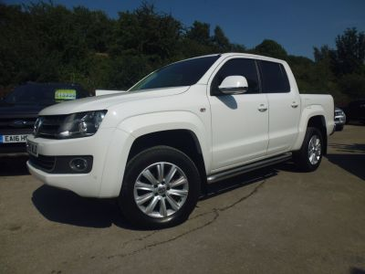 Volkswagen Amarok D/Cab Pick Up Highline 2.0 BiTDI 180 4MOTION Sel Pick Up Diesel WhiteVolkswagen Amarok D/Cab Pick Up Highline 2.0 BiTDI 180 4MOTION Sel Pick Up Diesel White at Mark Duesbury Cars Chesterfield