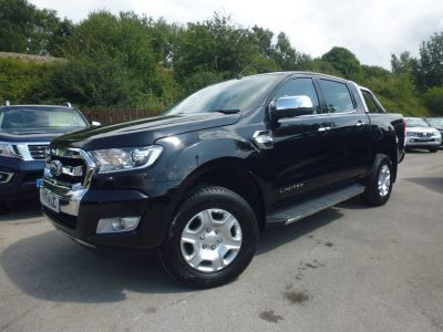 Ford Ranger Pick Up Double Cab Limited 2 2.2 TDCi Pick Up Diesel BlackFord Ranger Pick Up Double Cab Limited 2 2.2 TDCi Pick Up Diesel Black at Mark Duesbury Cars Chesterfield