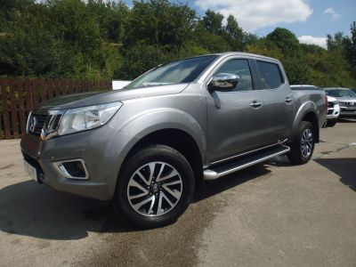 Nissan Navara Double Cab Pick Up N-Connecta 2.3dCi 190 4WD Pick Up Diesel GreyNissan Navara Double Cab Pick Up N-Connecta 2.3dCi 190 4WD Pick Up Diesel Grey at Mark Duesbury Cars Chesterfield