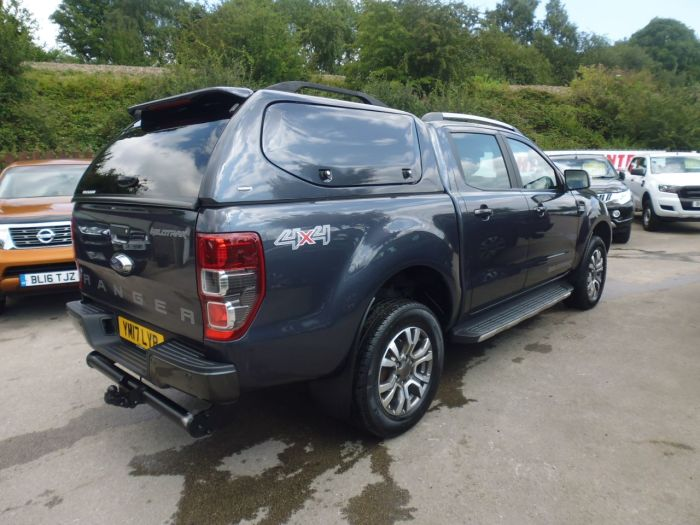 Ford Ranger 3.2 RANGER WILDTRAK 4X4 TDCI Pick Up Diesel Grey
