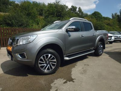 Nissan Navara Double Cab Pick Up Tekna 2.3dCi 190 4WD Auto Pick Up Diesel GreyNissan Navara Double Cab Pick Up Tekna 2.3dCi 190 4WD Auto Pick Up Diesel Grey at Mark Duesbury Cars Chesterfield