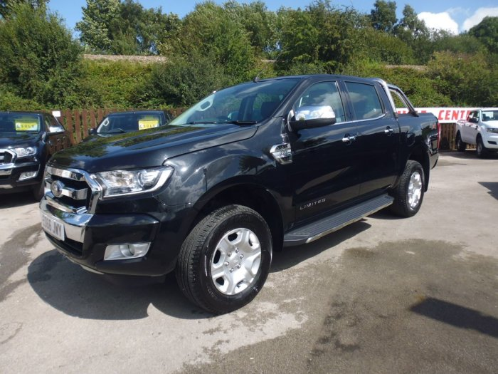 Ford Ranger Pick Up Double Cab Limited 2 2.2 TDCi Pick Up Diesel Black