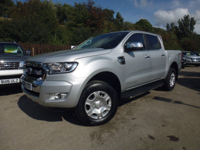 Ford Ranger Pick Up Double Cab Limited 2 2.2 TDCi Pick Up Diesel SilverFord Ranger Pick Up Double Cab Limited 2 2.2 TDCi Pick Up Diesel Silver at Mark Duesbury Cars Chesterfield