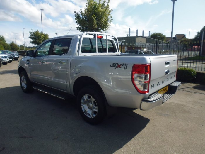 Ford Ranger Pick Up Double Cab Limited 2 2.2 TDCi Pick Up Diesel Silver