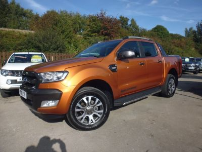 Ford Ranger Pick Up Double Cab Wildtrak 3.2 TDCi 200 Auto Pick Up Diesel OrangeFord Ranger Pick Up Double Cab Wildtrak 3.2 TDCi 200 Auto Pick Up Diesel Orange at Mark Duesbury Cars Chesterfield