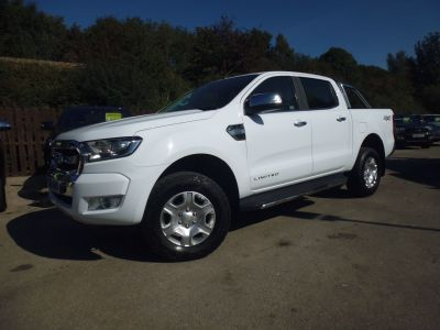 Ford Ranger Pick Up Double Cab Limited 2 2.2 TDCi Pick Up Diesel WhiteFord Ranger Pick Up Double Cab Limited 2 2.2 TDCi Pick Up Diesel White at Mark Duesbury Cars Chesterfield