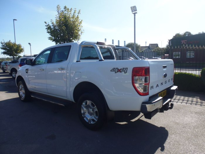 Ford Ranger Pick Up Double Cab Limited 2 2.2 TDCi Pick Up Diesel White