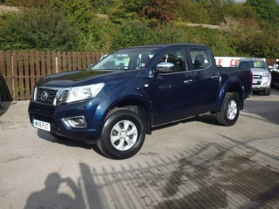 Nissan Navara Double Cab Pick Up Acenta 2.3dCi 160 4WD Pick Up Diesel BlueNissan Navara Double Cab Pick Up Acenta 2.3dCi 160 4WD Pick Up Diesel Blue at Mark Duesbury Cars Chesterfield