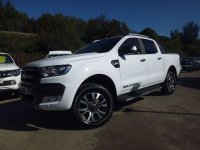 Ford Ranger Pick Up Double Cab Wildtrak 3.2 TDCi 200 Pick Up Diesel WhiteFord Ranger Pick Up Double Cab Wildtrak 3.2 TDCi 200 Pick Up Diesel White at Mark Duesbury Cars Chesterfield