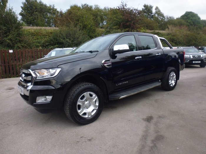 Ford Ranger 2.2 RANGER LIMITED 4X4 TDCI Pick Up Diesel Black