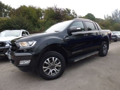 Ford Ranger Pick Up Double Cab Wildtrak 3.2 TDCi 200 Auto Pick Up Diesel BlackFord Ranger Pick Up Double Cab Wildtrak 3.2 TDCi 200 Auto Pick Up Diesel Black at Mark Duesbury Cars Chesterfield