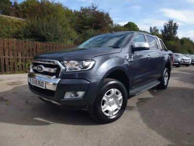 Ford Ranger Pick Up Double Cab Limited 2 2.2 TDCi Auto Pick Up Diesel GreyFord Ranger Pick Up Double Cab Limited 2 2.2 TDCi Auto Pick Up Diesel Grey at Mark Duesbury Cars Chesterfield