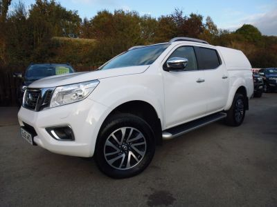 Nissan Navara Double Cab Pick Up Tekna 2.3dCi 190 4WD Auto Pick Up Diesel WhiteNissan Navara Double Cab Pick Up Tekna 2.3dCi 190 4WD Auto Pick Up Diesel White at Mark Duesbury Cars Chesterfield
