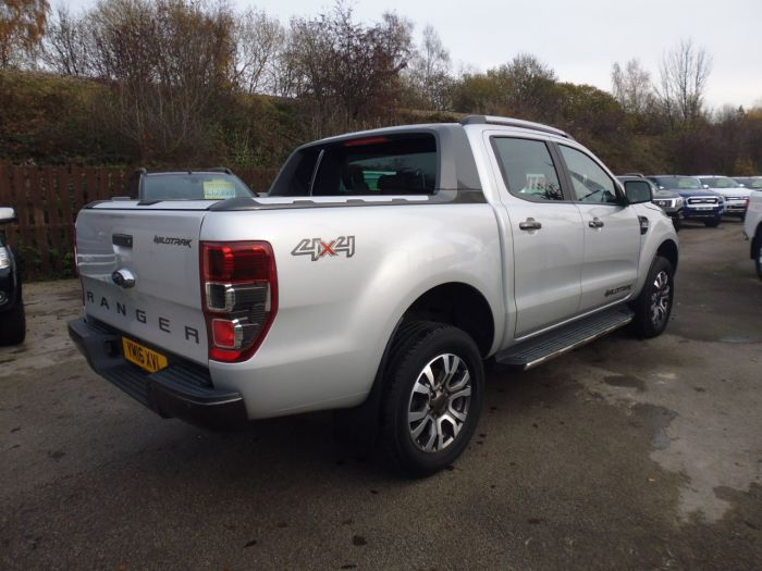 Ford Ranger Pick Up Double Cab Wildtrak 3.2 TDCi 200 Auto Pick Up Diesel Silver