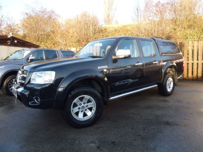 Ford Ranger Pick Up Thunder Double Cab 2.5 TDCi 4WD Pick Up Diesel BlackFord Ranger Pick Up Thunder Double Cab 2.5 TDCi 4WD Pick Up Diesel Black at Mark Duesbury Cars Chesterfield