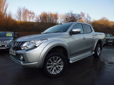 Mitsubishi L200 2.4 Double Cab DI-D 178 Barbarian 4WD Auto Pick Up Diesel SilverMitsubishi L200 2.4 Double Cab DI-D 178 Barbarian 4WD Auto Pick Up Diesel Silver at Mark Duesbury Cars Chesterfield