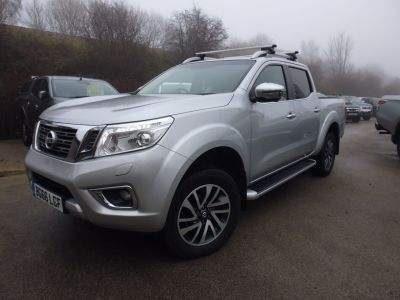 Nissan Navara Double Cab Pick Up Tekna 2.3dCi 190 4WD Auto Pick Up Diesel SilverNissan Navara Double Cab Pick Up Tekna 2.3dCi 190 4WD Auto Pick Up Diesel Silver at Mark Duesbury Cars Chesterfield