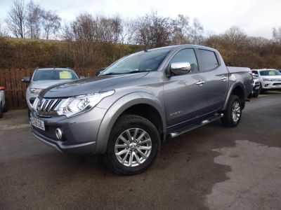 Mitsubishi L200 2.4 Double Cab DI-D 178 Barbarian 4WD Auto Pick Up Diesel GreyMitsubishi L200 2.4 Double Cab DI-D 178 Barbarian 4WD Auto Pick Up Diesel Grey at Mark Duesbury Cars Chesterfield