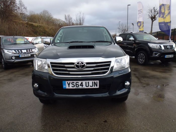 Toyota Hilux Invincible D/Cab Pick Up 3.0 D-4D 4WD 171 Pick Up Diesel Grey