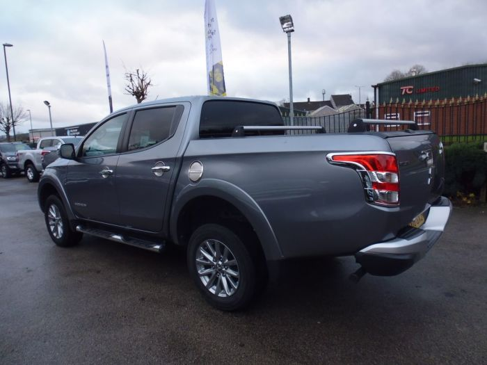 Mitsubishi L200 2.4 Double Cab DI-D 178 Barbarian 4WD Auto Pick Up Diesel Grey
