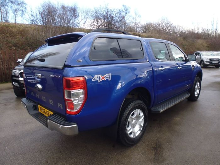 Ford Ranger Pick Up Double Cab Limited 2 2.2 TDCi Pick Up Diesel Blue