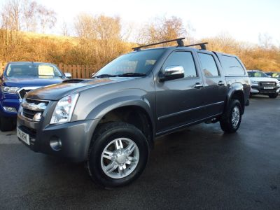 Isuzu Rodeo 2.5TD Denver Double Cab 4x4 Pick Up Diesel GreyIsuzu Rodeo 2.5TD Denver Double Cab 4x4 Pick Up Diesel Grey at Mark Duesbury Cars Chesterfield